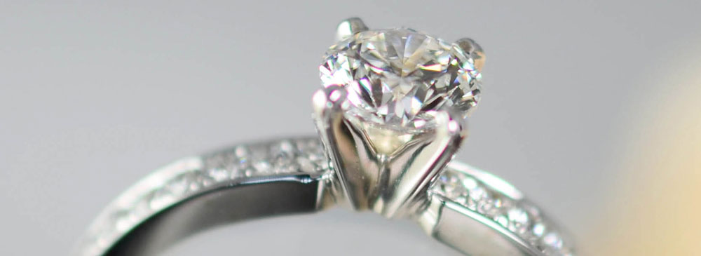 Canadian Diamond Engagement Ring by Angela Betteridge Jewellery