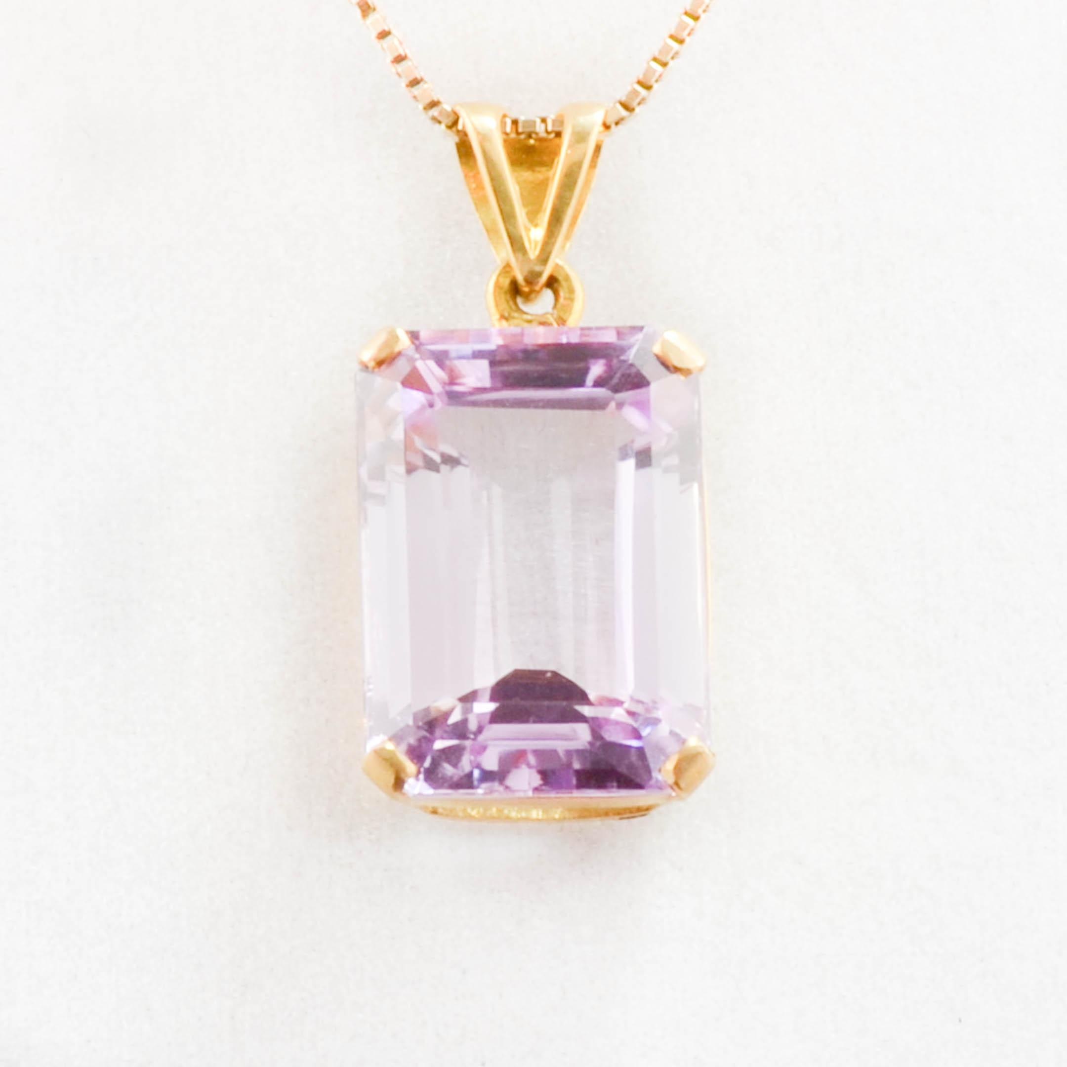 Angela betteridge kunzite pendant angela betteridge jewellery in stock mozeypictures Gallery