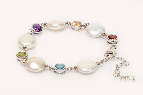 Liz-Pearl-and-Gemstone-Bracelet