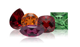 January – the month of the Garnet birthstone