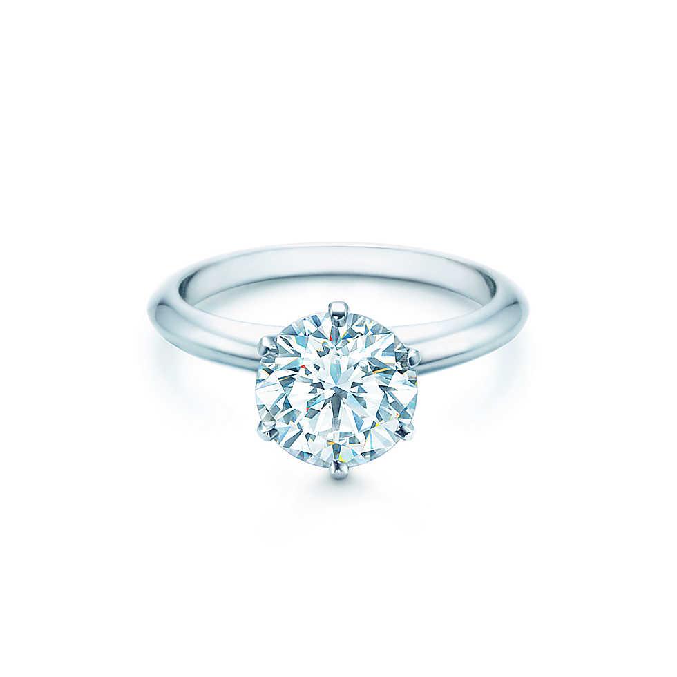 2ct Tiffany Classic Setting Diamond Engagement Ring