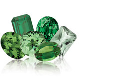 May – the month of the Emerald birthstone
