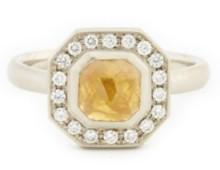Anne Sportun One of a Kind rosecut diamond ring