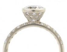 Galaxy Engagement Ring