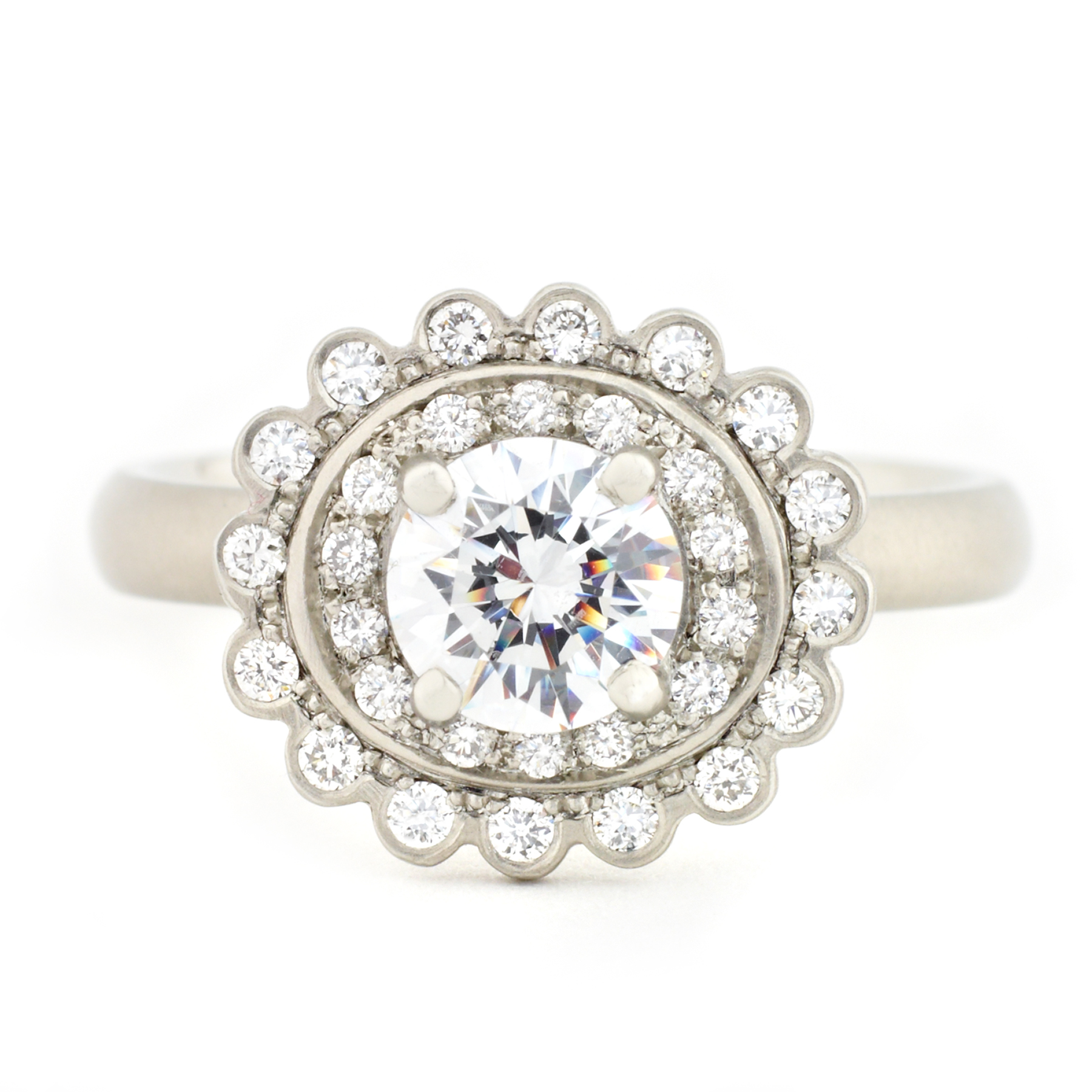 zoe starwhite morgan bands zinnia engagement buy front ring nz white gold engagment