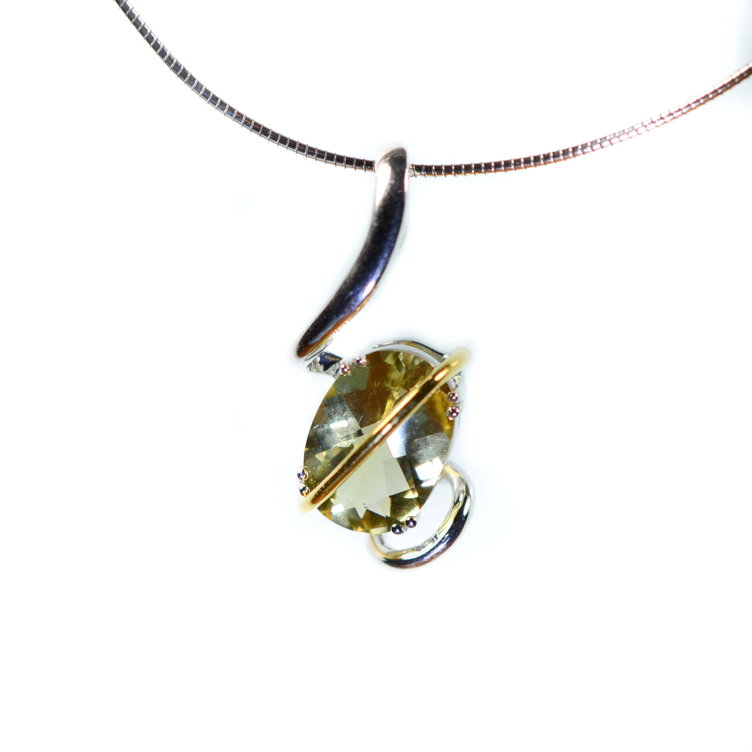 Angela betteridge lemon quartz pendant lemon quartz pendant mozeypictures Images