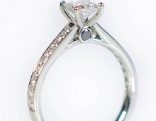 Canadian Princess Engagement Ring