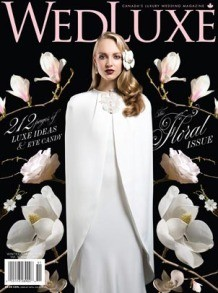 WedLuxe winter spring 2015 edition