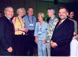 Industry Colleagues at CanadaMark diamonds launch JCK 2003