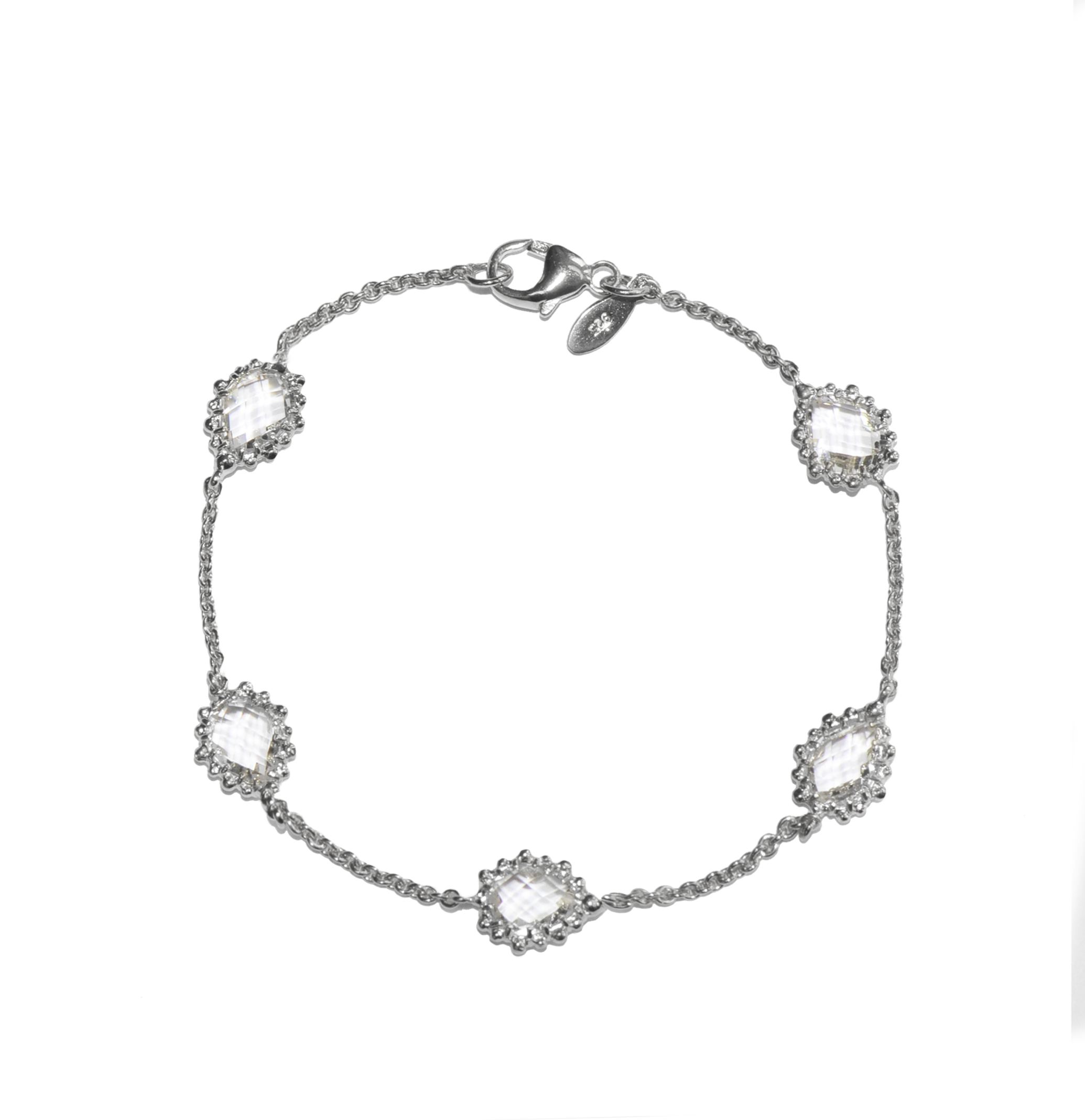 monday linked in image bracelet jewellery women of cz cheap com cheapmonday accessories silver