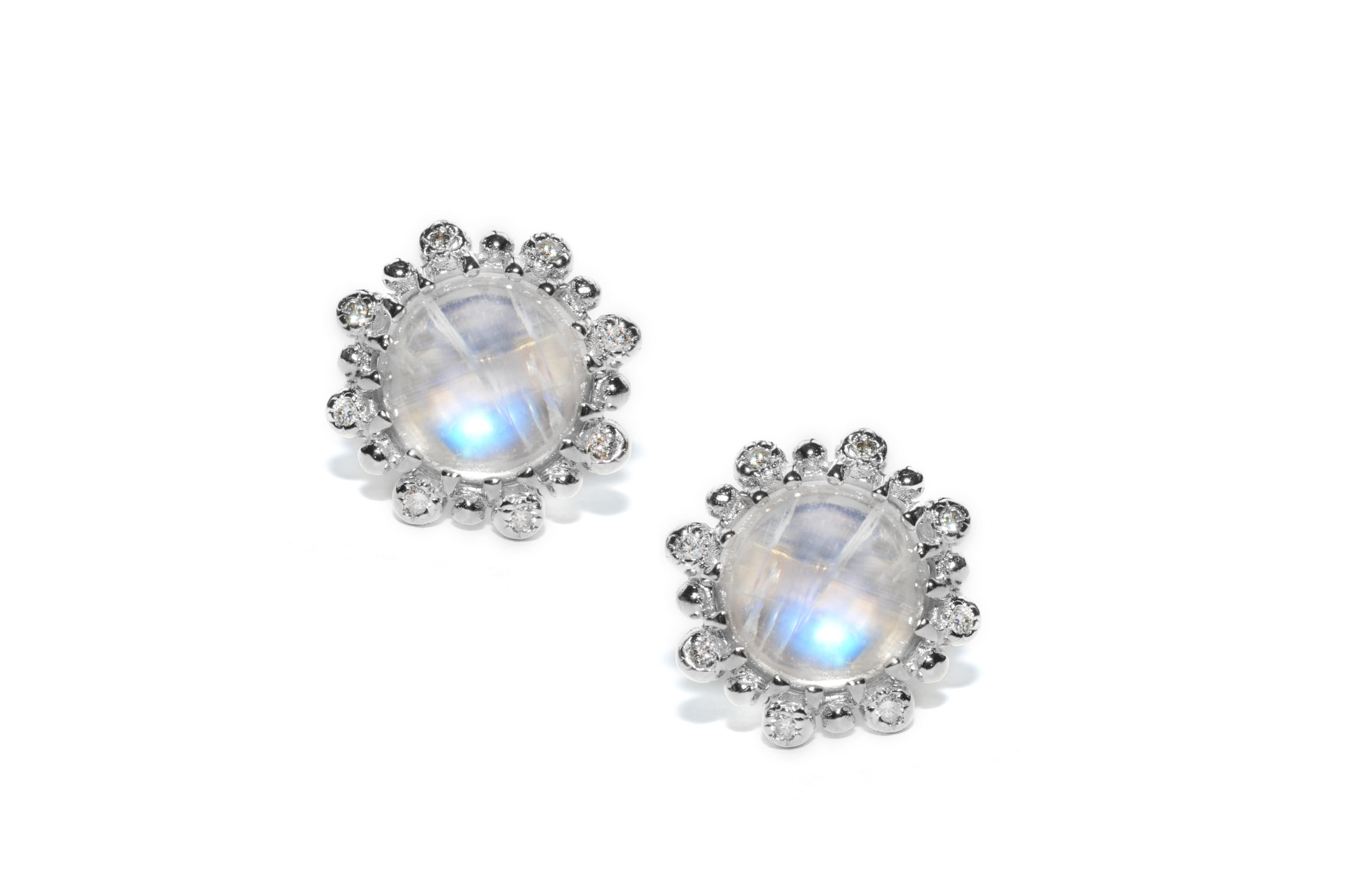 little jewellery stud silver oh michelle products earrings encrusted p