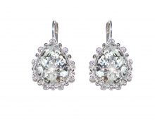 Anzie Dew Drop Étoile Pear Drop Earrings
