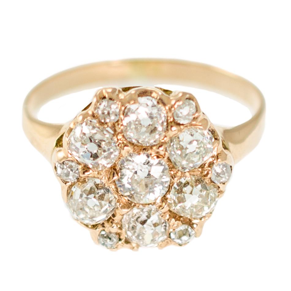 Vintage Cluster Ring
