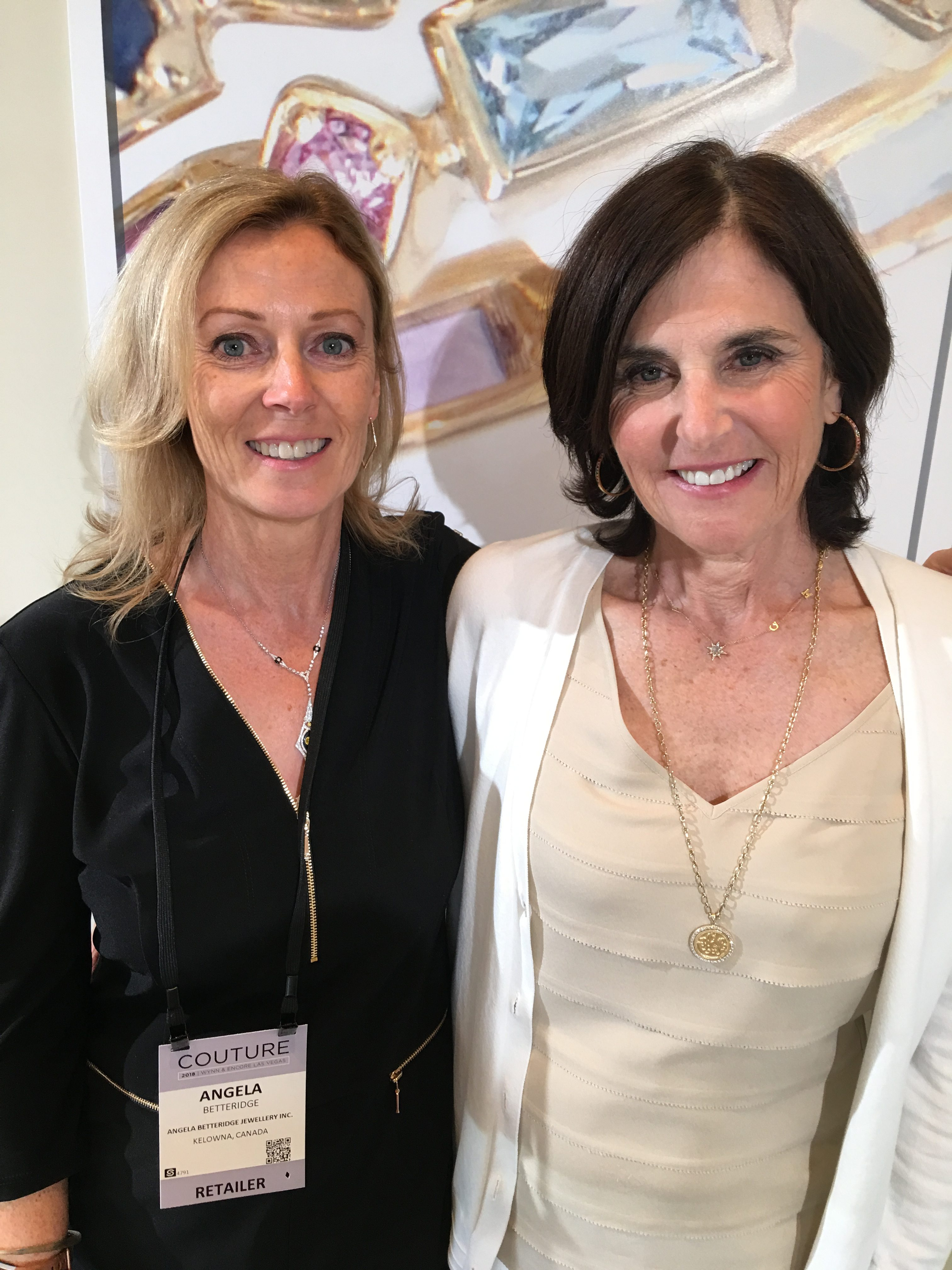 Angela Betteridge and ANZIE at Couture Las Vegas 2018